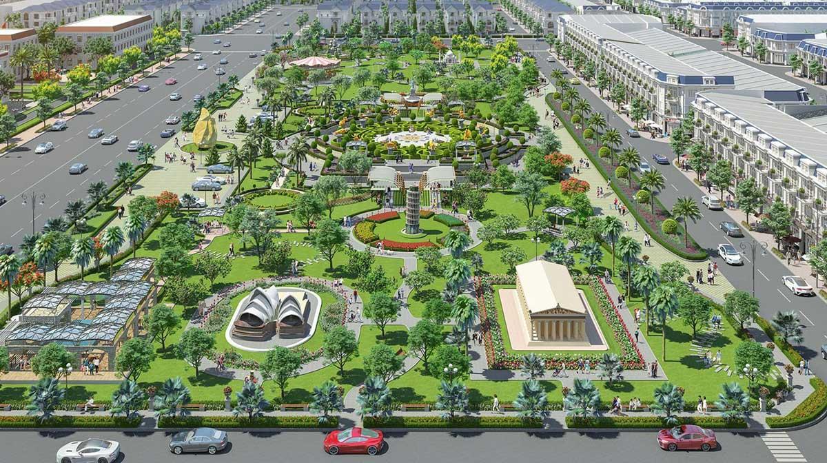 Khu Công Viên Century Park tại nội khu dự án