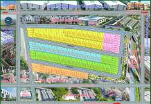 sơ đồ phân lo dự án đất nền Phú Mỹ Riverside