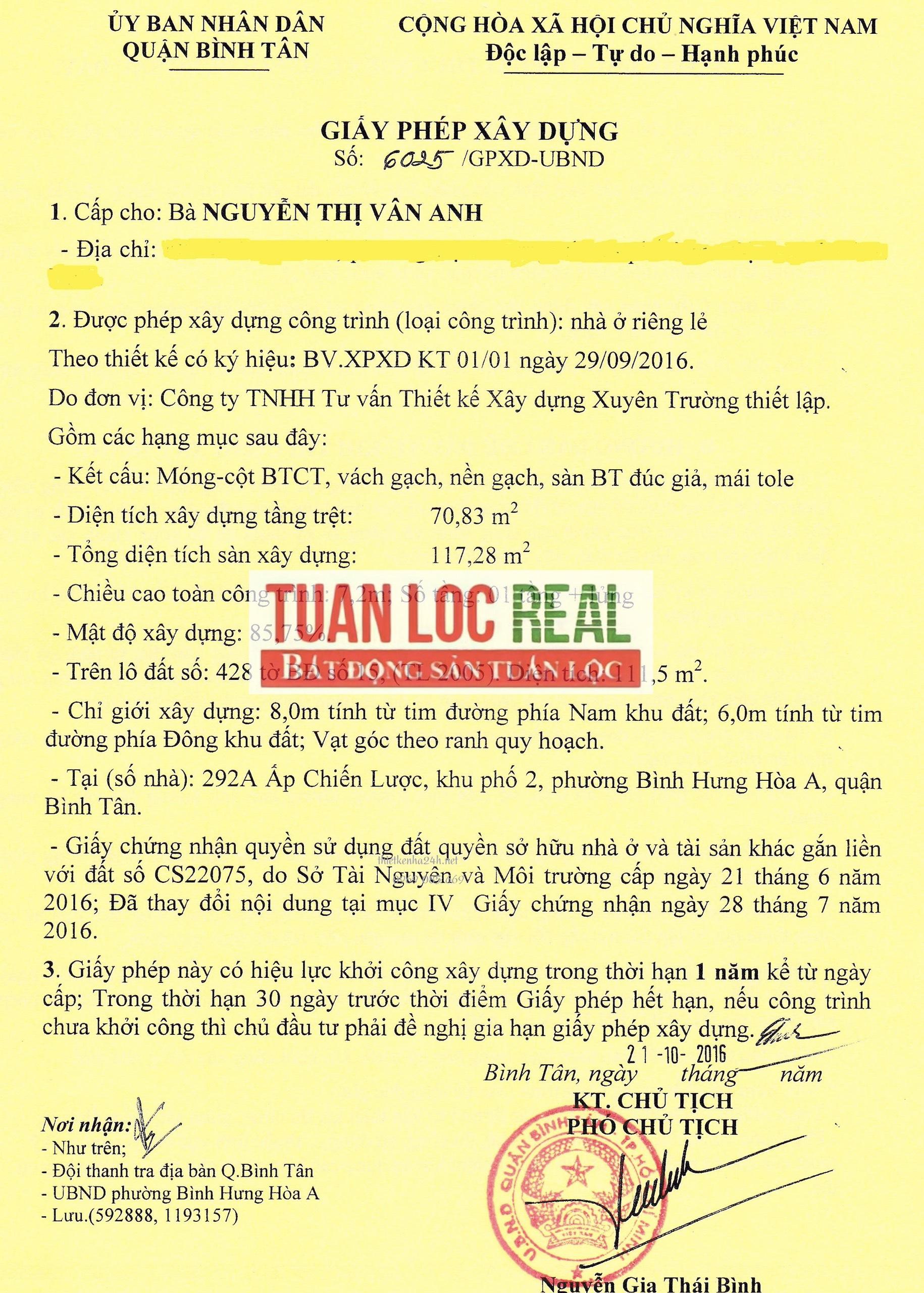 Thủ Tục, Hồ Sơ Xin Giấy Phép Xây Dựng Ở Long Thành - Đồng Nai